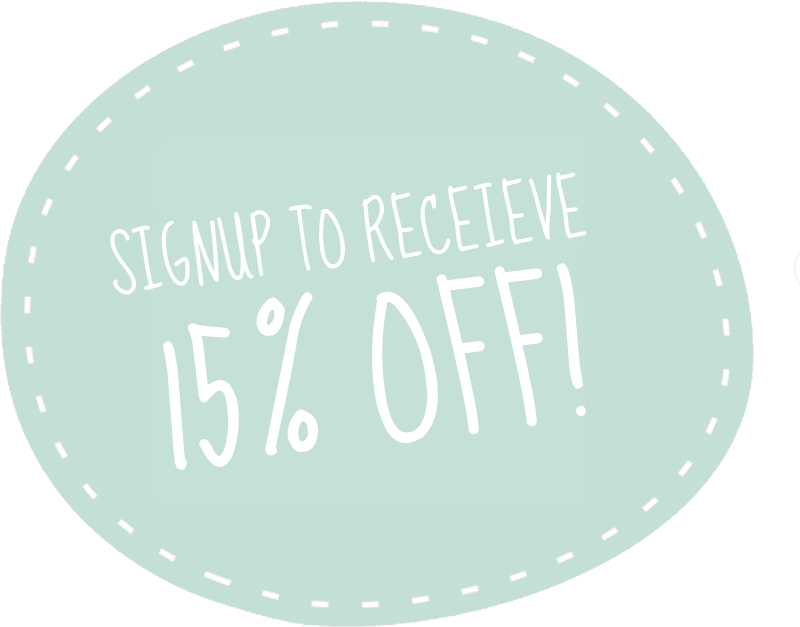 15% off when you signup