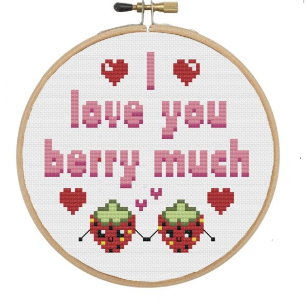 I love you berry much 001